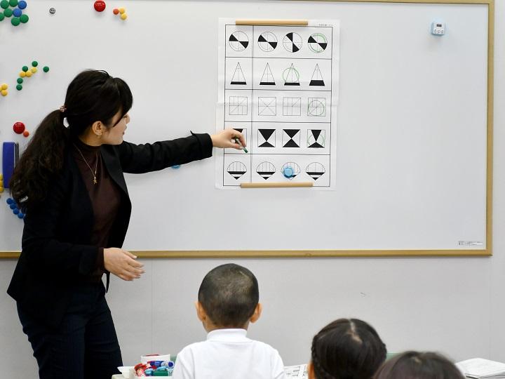 銀座教室の授業風景