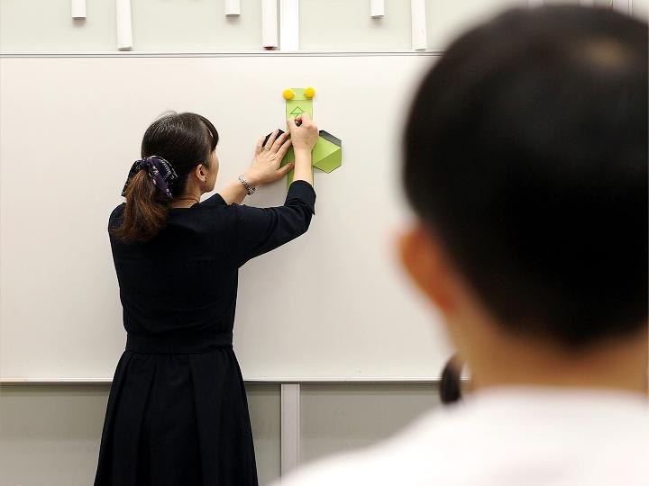 成城学園教室の授業風景