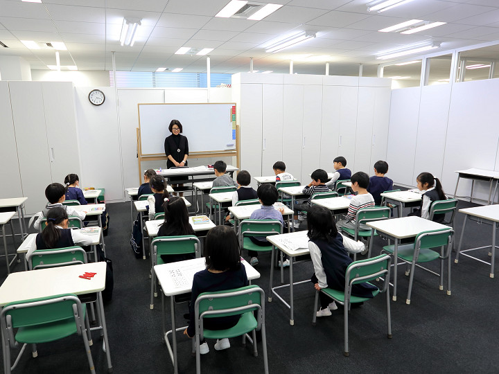 池袋本部教室の授業風景