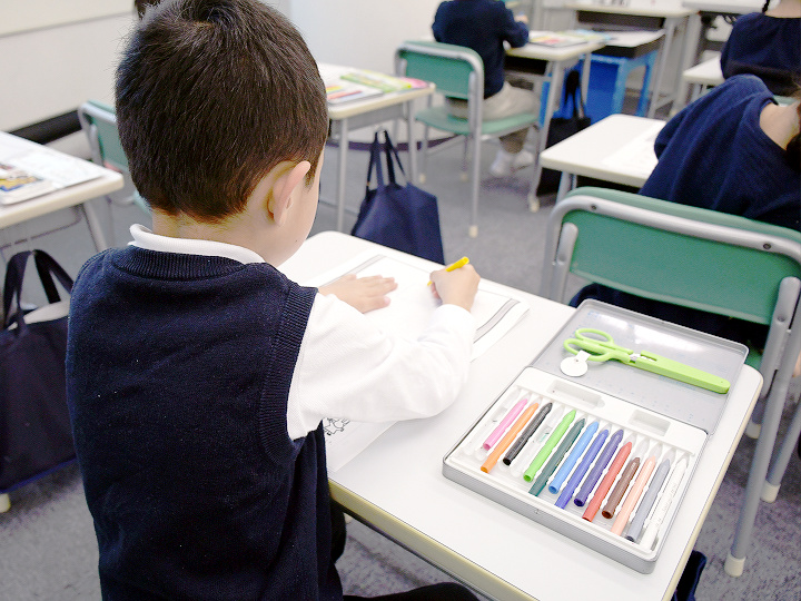 藤沢教室の授業風景