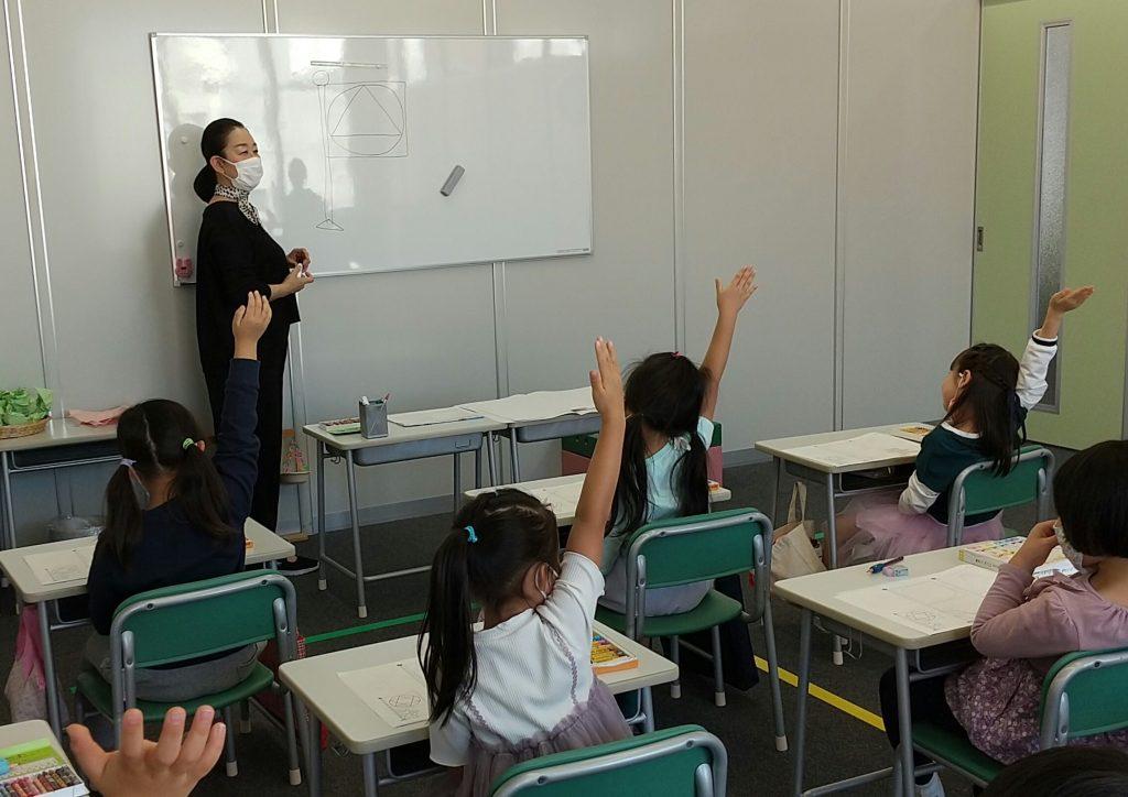 四条烏丸教室の授業風景